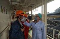 В Одесском порту начали измерять температуру всем прибывшим морякам