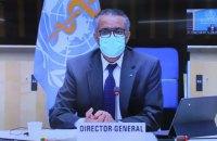 ВООЗ сподівається взяти пандемію під контроль протягом найближчих місяців