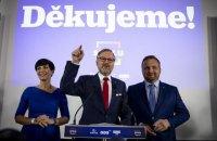 У Чехії ліберальні партії вестимуть перемовини про коаліцію лише між собою