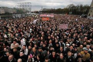 Оппозиция России анонсировала 100-тысячный марш протеста на 1 марта