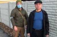 """На Луганщині затримали бойовика """"ЛНР"""", причетного до підриву п'ятьох мостів"""