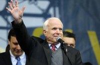 Сім'я Маккейна підтримала ідею назвати одну з вулиць Києва на честь сенатора, - Київрада
