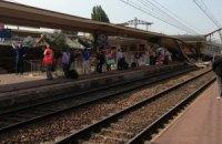 Во Франции поезд врезался в платформу: есть жертвы