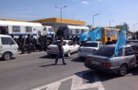 В Крыму задержали 60 участников автопробега в память о депортации крымских татар