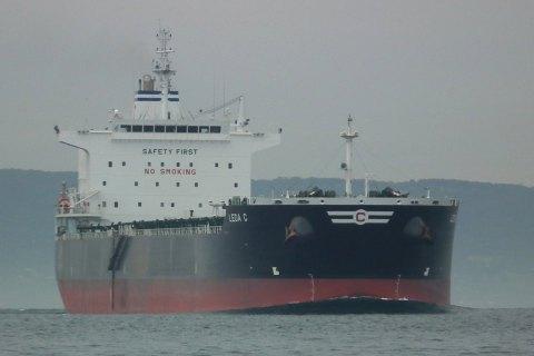 """Очередное судно с углем из ЮАР зашло в порт """"Южный"""""""