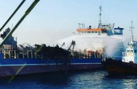 При взрыве на танкере в российском порту погибли трое людей