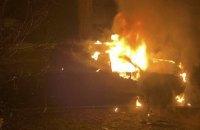 У Києві вночі спалили автомобіль матері депутата-свободівця (оновлено)