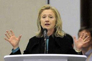 Клинтон поставила Украину и Беларусь в один ряд