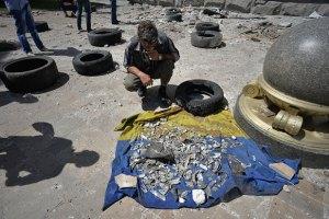 Школьников Донбасса учат избегать мин и снарядов