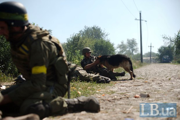 """Иловайск, батальон """"Донбасс"""""""