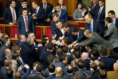 Верховная Рада лидирует в антирейтинге доверия украинцев