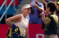 Даяна Ястремская сенсационно вышла в финал турнира WTA в Гонконге