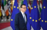 Польський прем'єр отримав вотум довіри