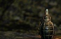В Киеве из-за взрыва гранаты ранен военный