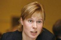 Президент Эстонии подчеркнула важность сохранения санкций против России