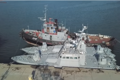 РФ не вернула оружие и боеприпасы, изъятые у украинских моряков в ходе захвата кораблей