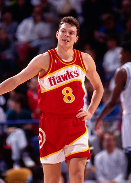 Из «Будивельника» Волков перешел в состав «ястребов» из Атланты, став первым «советским» украинцем в НБА
