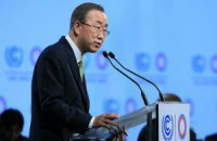 ООН виправила слова Пан Гі Муна про миротворчу Росію