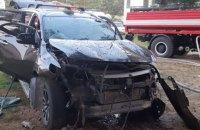 На базі відпочинку у Львівській області вибухнув автомобіль, загинула одна людина