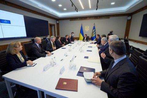 Зеленський провів зустріч із делегацією Конгресу США