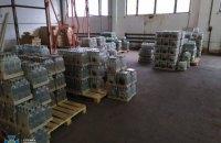 СБУ пресекла промышленное производство фальсификатного алкоголя