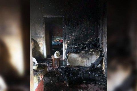 На Днепропетровщине на пожаре погибла 86-летняя женщина