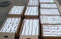 В Луганске милиция изъяла 72 тысячи пачек контрафактных сигарет