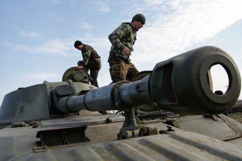 Боевики объявили о частичном отводе танков и орудий калибром до 100 мм