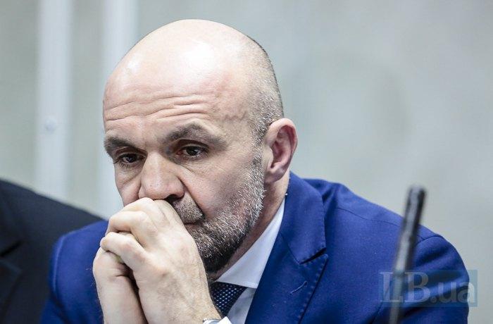 Владислав Мангер під час судового засідання