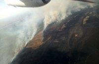 В Одеській області загасили велику пожежу у Вилківському лісництві (оновлено)