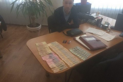 У зоні АТО під час отримання хабара затримали інспектора фіскальної служби