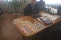 В зоне АТО при получении взятки задержали инспектора фискальной службы