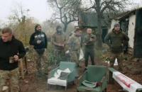 """МВС відзвітувало про вивезення зброї, яка була в представників """"Нацкорпусу"""" в Золотому-4"""