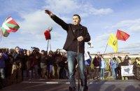 Бывший лидер баскских сепаратистов вышел из тюрьмы