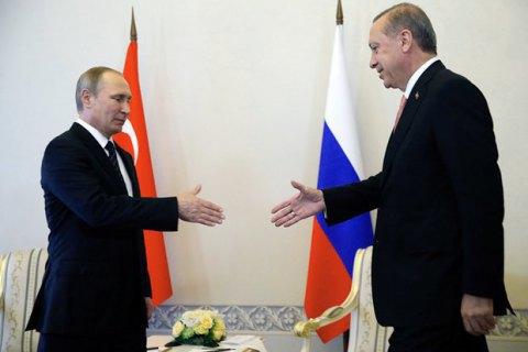 Путін і Ердоган домовилися про взаємне скасування санкцій, крім заборони на помідори