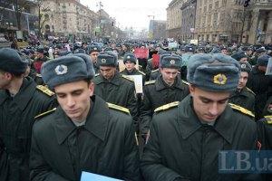Через АТО військові ВНЗ випустять курсантів достроково