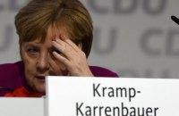 Ангела Меркель вирішила видалити свій акаунт у Facebook