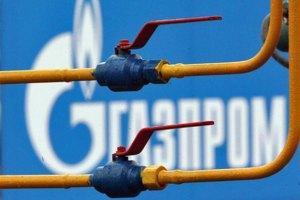"""""""Газпром"""" требует от Украины $333 млн за недобор газа в январе"""