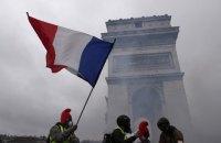 Поліція Парижа застосувала сльозогінний газ і водомети проти демонстрантів (оновлено)