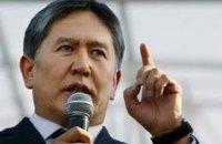 Прихильники Атамбаєва оголосили в Бішкеку безстроковий мітинг