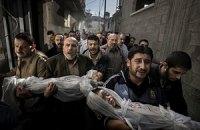 Главную награду премии World Press Photo-2012 отдали за снимок погибших палестинских детей