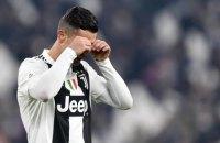 Роналду не реализовал юбилейный 25-й пенальти в карьере