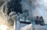 Сгоревшая при боевиках Славянская ТЭС возобновила работу