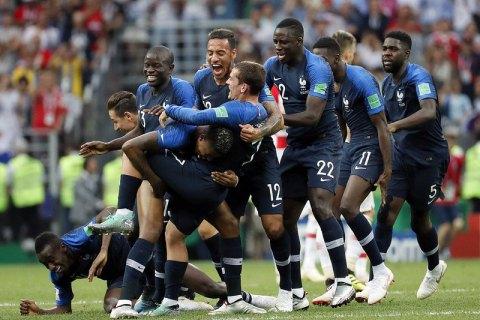 Игрок сборной Франции продал золотую медаль Чемпионата мира-2018
