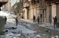 Около 45 сирийских повстанцев погибли при прорыве осады правительственных войск