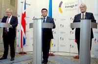 Польша и Британия предложили новый формат переговоров по Донбассу