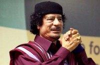 Телевидение Ливии показало Муаммара Каддафи