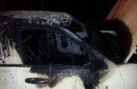 В Харькове сожгли лимузин