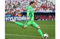 Пятов установил рекорд сборной Украины