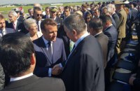 Макрон перед зустріччю із Зеленським обговорив з Аваковим співробітництво в авіасфері